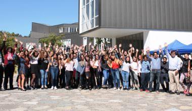 Escuela de Psicología dio la bienvenida a nuevos alumnos en campus Viña del Mar