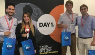 """Estudiantes de Ingeniería UAI representarán a Chile en la final regional de """"CEO Challenge"""" de P&G"""