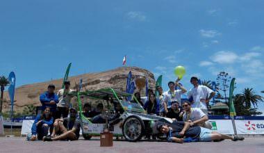 Equipo Electromovilidad UAI obtiene primer lugar en la categoría híbrida biplaza de Carrera Solar de Atacama